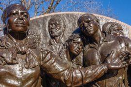 Harriet Tubman Memorial in Boston