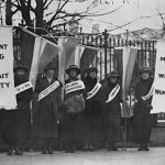 A Day Trip Following the Suffragist Movement Presence in DC