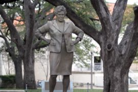Barbara Jordan Statue in the City of Texas