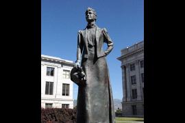Martha Hughes Cannon Statue