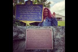 Belva Lockwood Memorial and Garden