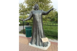 """God Bless America"" – Kate Smith Statue"