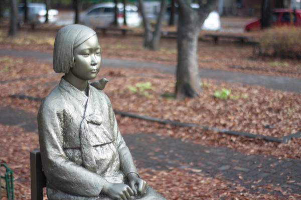 The-Young-Girl's-Statue-for-Peace-Comfort-Women-Memorial-Atlanta-WWP