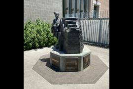 Ruby Bridges Statue