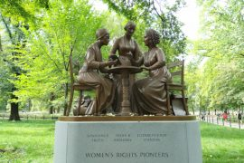 Women's Rights Pioneers Monument