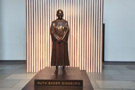 Justice Ruth Bader Ginsburg Statue